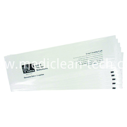 Zebra 105912G-707 Alcohol T Cleaning Cards - Qty