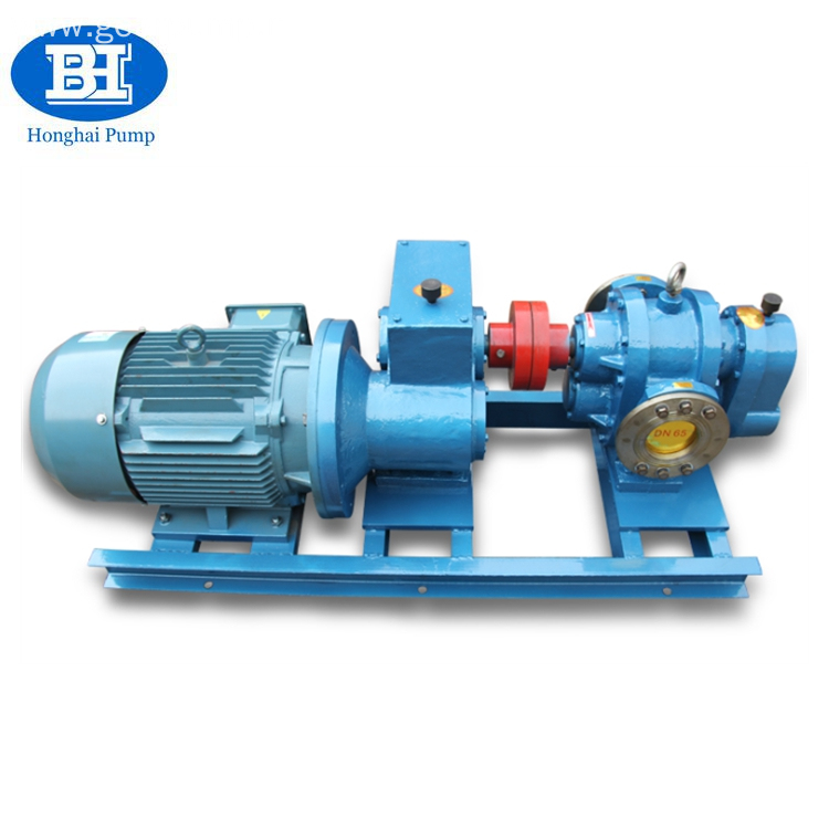 Industrial high viscosity heavy oil transfer pump