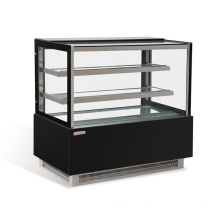 Refrigerated supermarket display cabinet