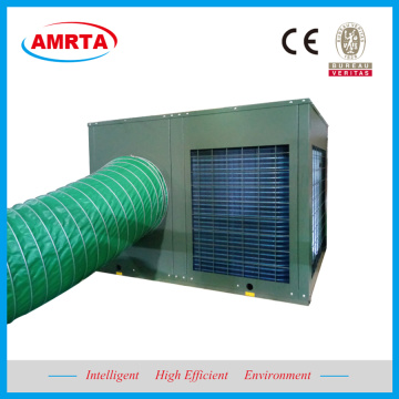 Portable Rooftop Packaged Heating and Cooling System