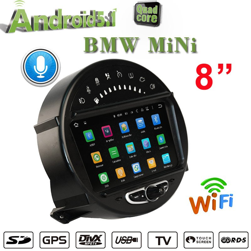 Mini Cooper Android Display 1314 Main Unit