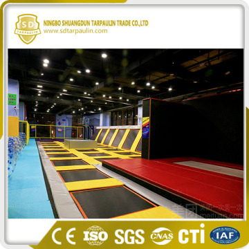 Tarpaulin PVC Coated Fabric In Roll For Trampoline