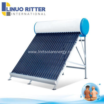 Good quality home using solar hot water