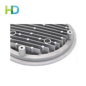 High reputation for for Aluminum Die Casting Led Outdoor dedicated led aluminum pressure die-casting for lamp supply to Burkina Faso Factory