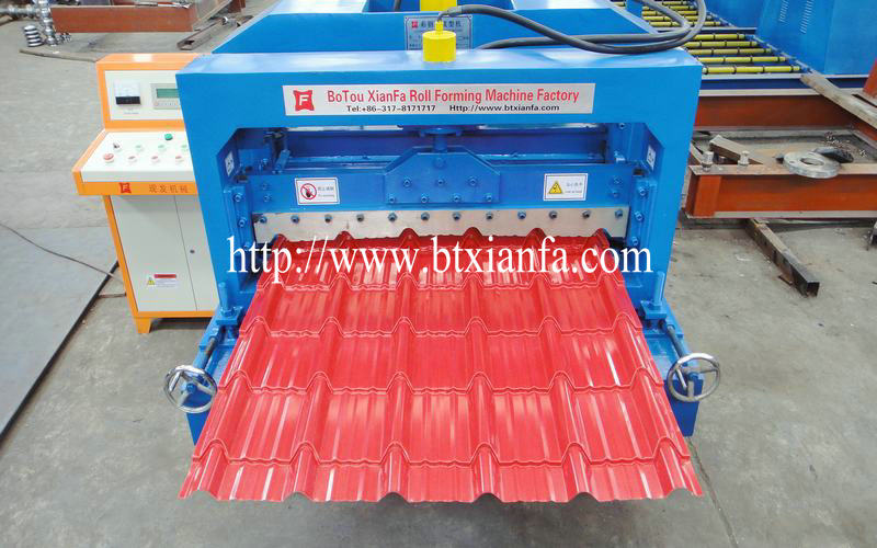 tile roof forming machine 2