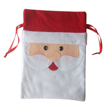 Portable christmas santa sack