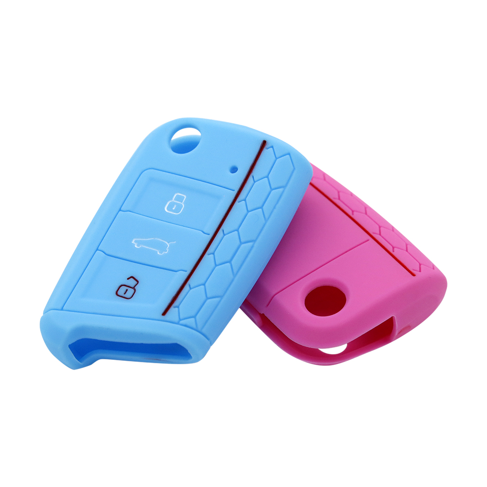 Brand Silicone Car Key Holder