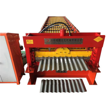 Roofing tile corrugated sheet roll forming machine price
