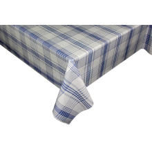 PEVA/PVC Printed with flannel backing tablecloth