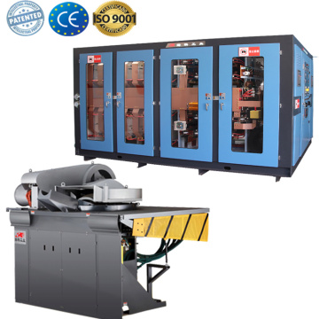 High quality inductive heating systems for copper