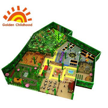 Forest Jungle Theme Park Playground For Sale