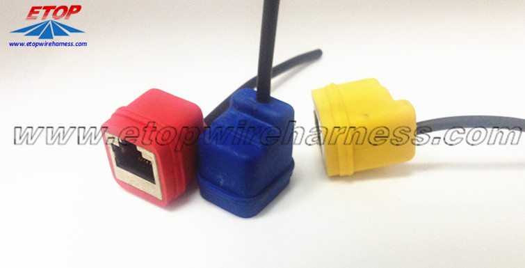 RJ45 Molded Connector Without Screw