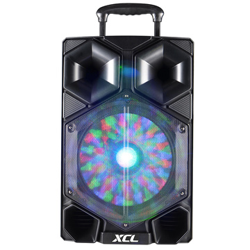 Nogo portable bluetooth trolley karaoke speaker 15 inch