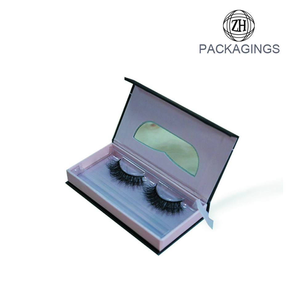 Eyelash packaging false eyelashes box luxury