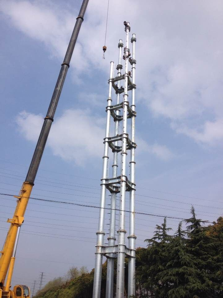 Combined Steel Tubular Pole