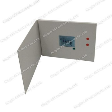 2.4inch MP4 Greeting Card,Video Advertising Player,Video Player Card