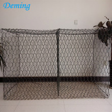 China OEM for chicken mesh Powder Coated Hexagonal Woven Gabion Box Price supply to Mayotte Manufacturers