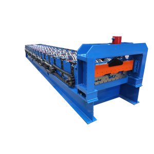 Good Quality for Roof Panel Forming Machine Metal Sheet  Floor Deck Roll Forming Machine export to Western Sahara Factories