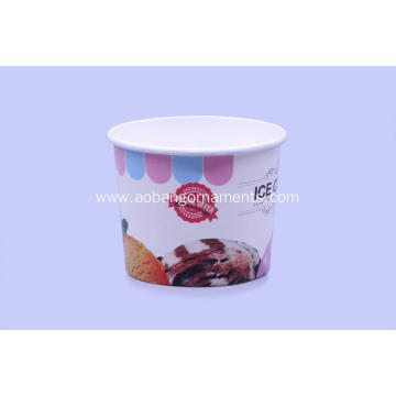 Professional for Ice Cream Paper Cup Nice design ice cream paper cup supply to France Metropolitan Factory
