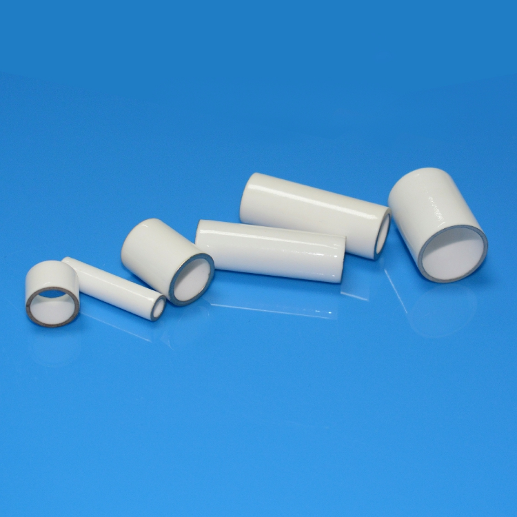 Ceramic metallization sleeve