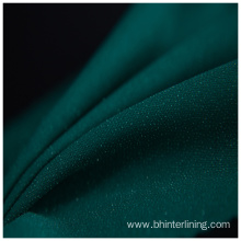 China Professional Supplier for China Woven Interlining,Woven Fusible Interlining,Woven Interlining Fabric Supplier Shrink-Resistant green double dot woven fusing interlining supply to Bolivia Factories