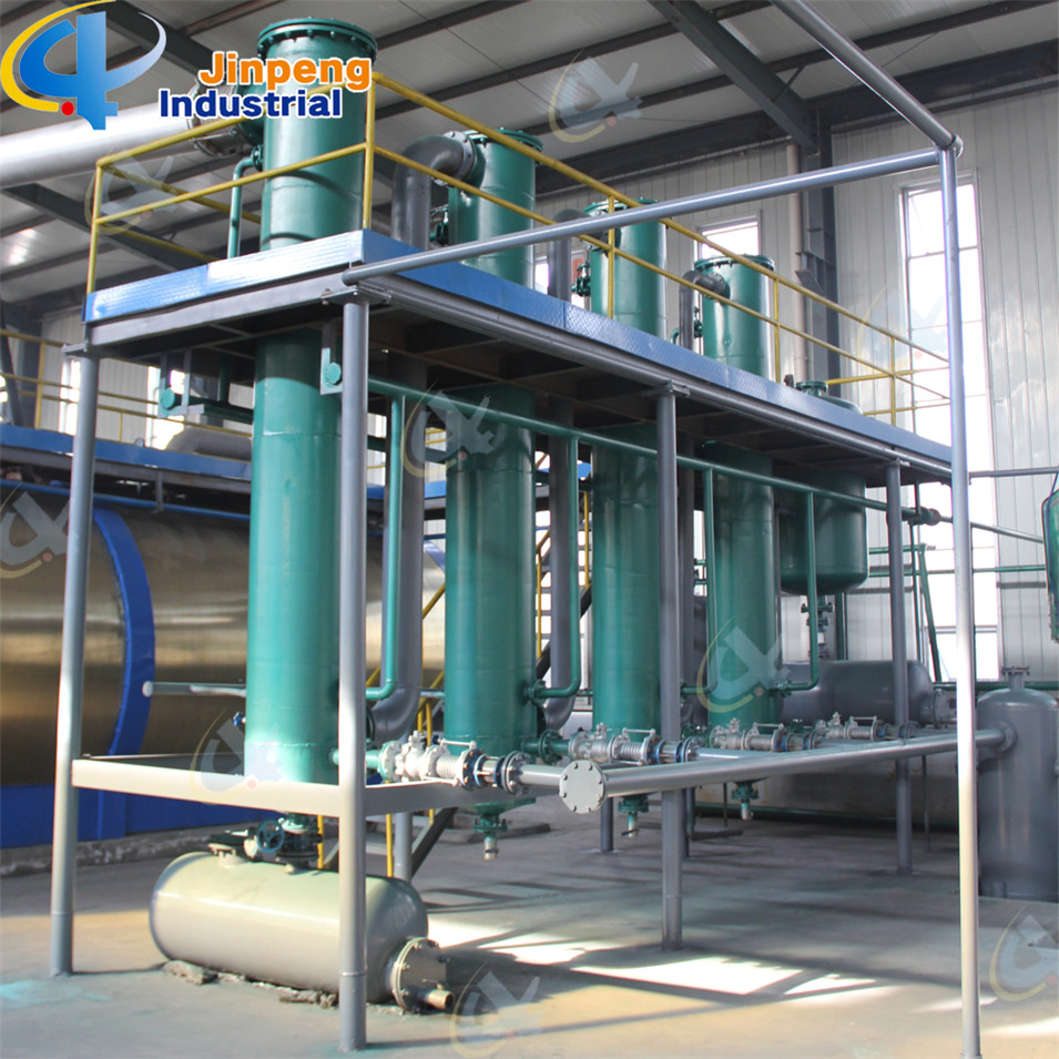 Waste Oil Distillation Plant with Latest Technology