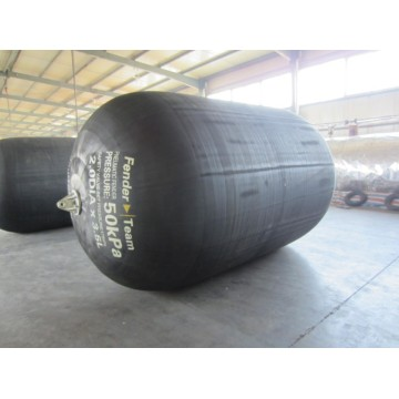 2.5 x 5.5m Pneumatic Floating Fenders ISO 17357