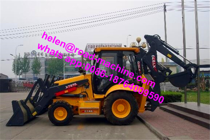 Mini Backhoe Loader With CE