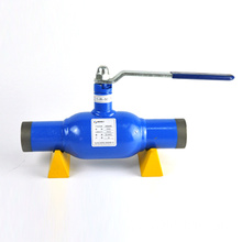China supplier large size WCB material fully welded ball valve
