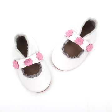 Wholesale Baby Dress White Shoes Baby leather Girls