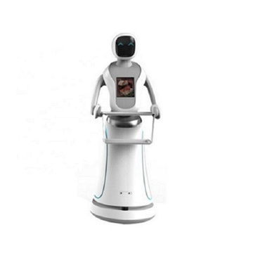 Room Trackless Robot With Touch Screen