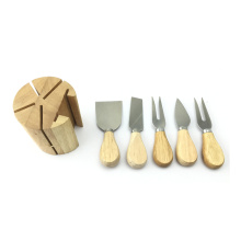 5pcs mini knife cheese butter cooking knife set