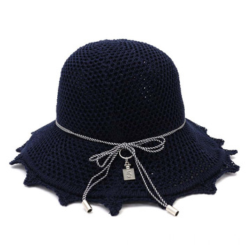Breathable winter cloth fedora bucket hat custom