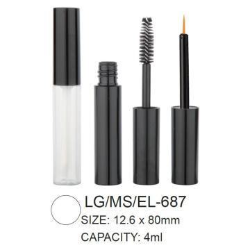 Empty Round Lip Gloss/Mascara/Eyeliner Packaging