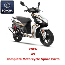 Special for Supply Znen Scooter Starter Motor, Znen Scooter Carburetor, Znen Scooter CDI to Your Requirements ZNEN A9 Complete Scooter Spare Part export to France Supplier