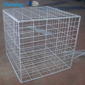 Manufacturer Welded Hot Dipped Galvanized Decorative Gabion Wall