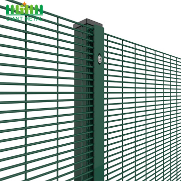 Powder coated anti climbing 358 security fencing