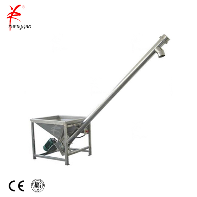 Modular TU tubular screw conveyor feeder machine