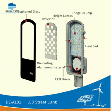 High Quality for Led Solar Street Light DELIGHT DE-AL01 40W Dimmable LED Street Lamp export to Comoros Factory