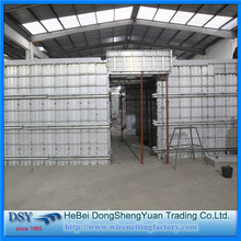 Wall Aluminum Formwork System panel with Scaffoldings