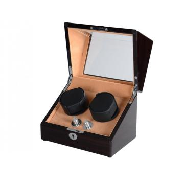 Automatic Watch Winder Box For Double Watches