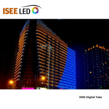 RGB DMX LED Linear Light for Building Facade