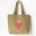 Hessian shopping bag