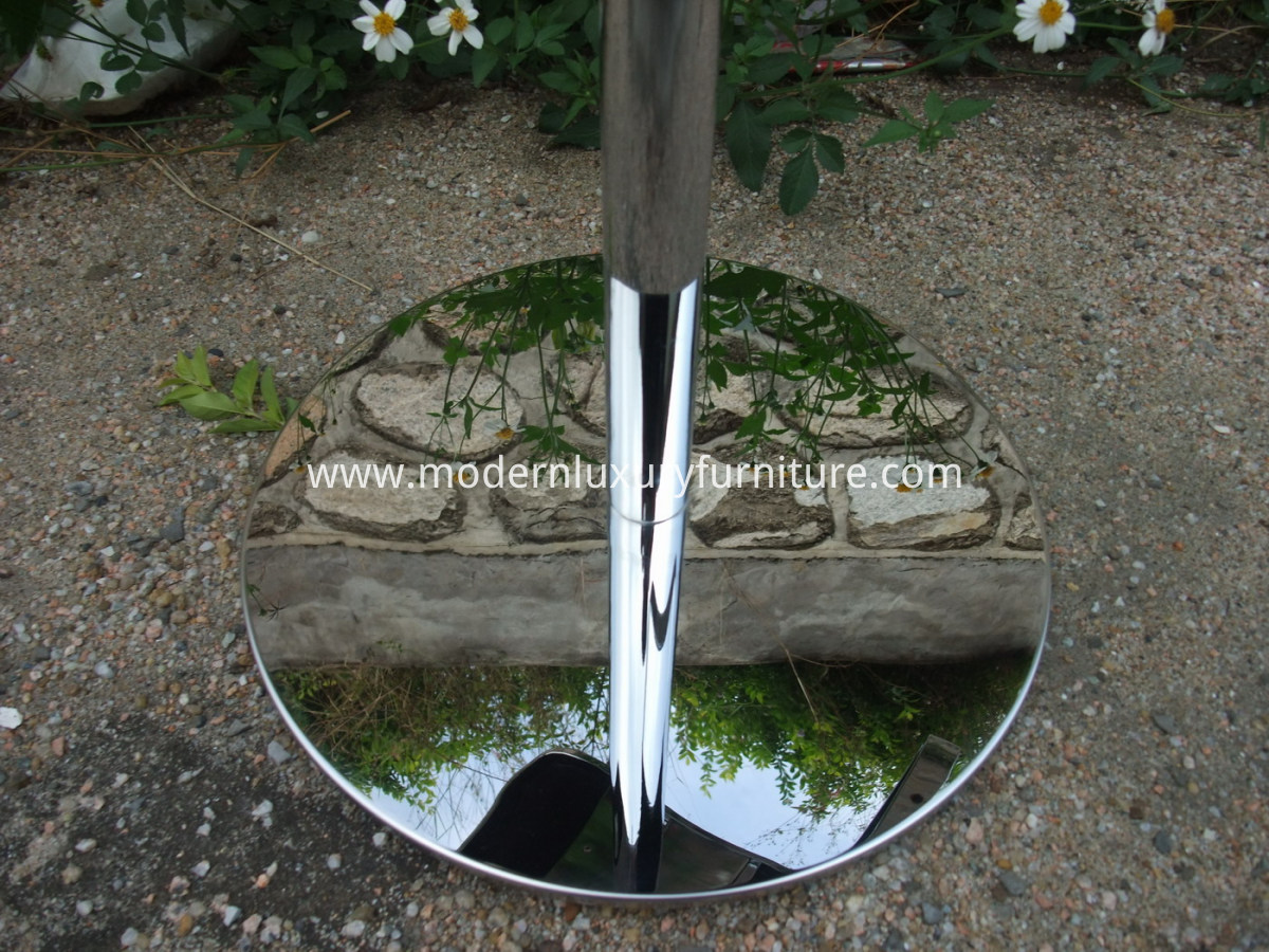 mirror shine stainless steel of lem stool