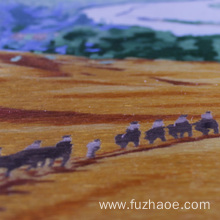 Personlized Products for Hand-Embroidered Animals Hand-embroidered desert landscape embroidery gifts export to Luxembourg Manufacturer