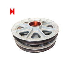 Personlized Products for Hoist Pulley,Electric Chain Hoist Pulley,Hoist Pulley Block Wholesale from China Wire rope sheaves nylon pulley wheels with bearings export to Syrian Arab Republic Supplier