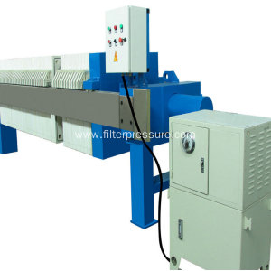 Automatic Cast Iron Filter Press For Food Beverage
