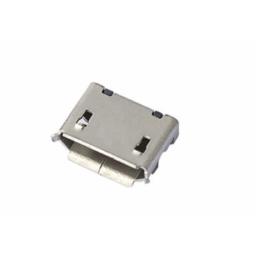 Micor USB 5P Receptacle Angle B Type DIP