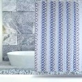 Shower Curtain PEVA Blue Coral