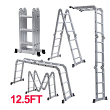 Good Quality for Multipurpose Ladder With Hinges Aluminum Handrail  Folding Multi-purpose Ladder supply to United Kingdom Factories
